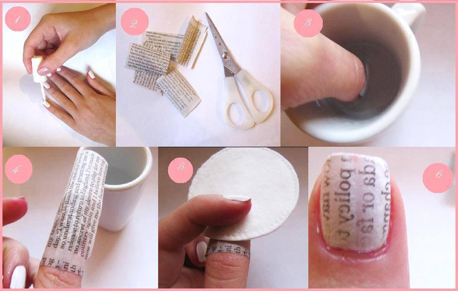 Category: DIY NEWSPAPER NAIL DESign - Breeze.Fashionista
